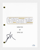 """Spike Lee Signed """"Do the Right Thing"""" Movie Script (AutographCOA COA) at PristineAuction.com"""