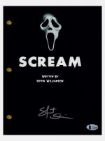 "Skeet Ulrich Signed ""Scream"" Movie Script (Beckett COA) at PristineAuction.com"