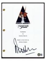 "Malcolm McDowell Signed ""A Clockword Orange"" Movie Script (Beckett COA) at PristineAuction.com"