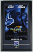 """""""Space Jam"""" 15x23 Custom Framed Photo Display with 1996 Original Movie Opening Pin at PristineAuction.com"""