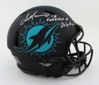 """Dan Marino Signed Dolphins Full-Size Authentic On-Field Eclipse Alternate Speed Helmet Inscribed """"Forever a Dolphin"""" (JSA COA) at PristineAuction.com"""