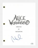 "Mia Wasikowska Signed ""Alice In Wonderland"" Movie Script (AutographCOA COA) at PristineAuction.com"