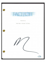 "Nicolas Cage Signed ""Face/Off"" Movie Script (AutographCOA COA) at PristineAuction.com"