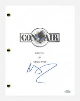 """Nicolas Cage Signed """"Con Air"""" Movie Script (AutographCOA COA) at PristineAuction.com"""