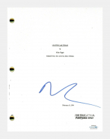 "Nicolas Cage Signed ""Leaving Las Vegas"" Movie Script (AutographCOA COA) at PristineAuction.com"