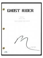 "Nicolas Cage Signed ""Ghost Rider"" Movie Script (AutographCOA COA) at PristineAuction.com"