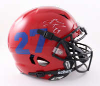 Brandon Jacobs Signed Full-Size Youth Authentic On-Field Vengeance Helmet (Beckett COA) at PristineAuction.com