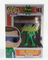 "Wally Wingert Signed ""Batman"" Classic TV Series - The Riddler #183 Funko Pop! Vinyl Figure (Beckett COA) at PristineAuction.com"