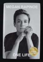 """Megan Rapinoe Signed """"One Life"""" Hardcover Book (Beckett COA) (See Description) at PristineAuction.com"""