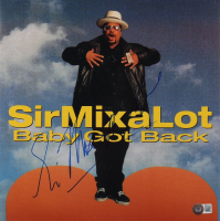 """Sir Mix-a-Lot Signed """"Baby Got Back"""" 12x12 Photo (Beckett COA) at PristineAuction.com"""