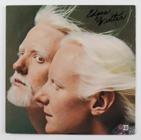 """Edgar Winter Signed """"Together: Edgar Winter and Johnny Winter Live"""" Vinyl Record Album (Beckett COA) at PristineAuction.com"""