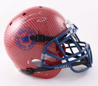 Tremaine Edmunds Signed Full-Size Youth Authentic On-Field Hydro-Dipped Helmet (Beckett COA) (See Description) at PristineAuction.com