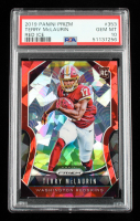 Terry McLaurin 2019 Panini Prizm Prizms Red Ice #353 RC (PSA 10) at PristineAuction.com