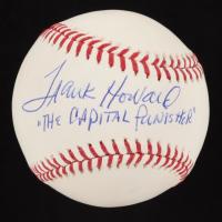 "Frank Howard Signed OML Baseball Inscribed ""The Capital Punisher"" (MAB Hologram) (See Description) at PristineAuction.com"