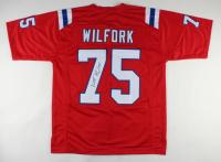Vince Wilfork Signed Jersey (JSA COA) at PristineAuction.com