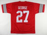 "Eddie George Signed Jersey Inscribed ""95 Heisman"" & ""95' 1927 Yds"" (JSA COA) at PristineAuction.com"