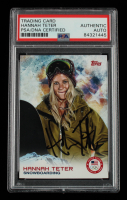 Hannah Teter Signed 2014 Topps U.S. Olympic Team #82 (PSA Encapsulated) at PristineAuction.com