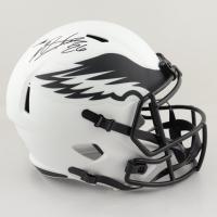 Miles Sanders Signed Eagles Full-Size Lunar Eclipse Alternate Speed Helmet (JSA COA) at PristineAuction.com