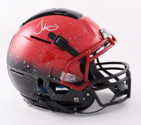Tyreek Hill Signed Full-Size Authentic On-Field Hydro-Dipped F7 Helmet (JSA COA) at PristineAuction.com