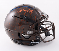 Nick Chubb Signed Full-Size Youth Authentic On-Field F7 Hydro-Dipped Helmet (Beckett COA) at PristineAuction.com