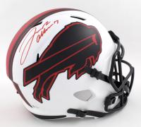 Josh Allen Signed Bills Full-Size Lunar Eclipse Alternate Speed Helmet (Beckett COA) at PristineAuction.com