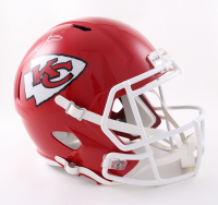 Tyreek Hill Signed Chiefs Full-Size Speed Helmet (Beckett Hologram) at PristineAuction.com