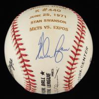 Nolan Ryan Signed ONL Stat Baseball (Beckett COA) at PristineAuction.com