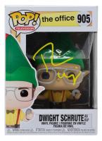 "Rainn Wilson Signed ""The Office"" - Dwight Schrute as Elf #905 Funko Pop! Vinyl Figure (PSA COA) at PristineAuction.com"