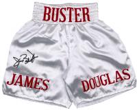 "James ""Buster"" Douglas Signed Boxing Trunks (JSA COA) at PristineAuction.com"