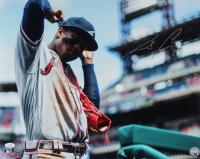 Ronald Acuna Jr. Signed Braves 16x20 Photo (JSA COA) at PristineAuction.com