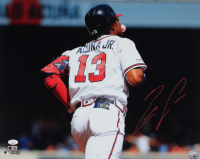 Ronald Acuna Jr. Signed Braves 16x20 Photo (JSA COA & USA SM COA) at PristineAuction.com