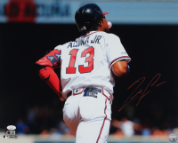Ronald Acuna Jr. Signed Braves 16x20 Photo (JSA Hologram & USA SM COA) at PristineAuction.com