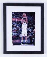 Kawhi Leonard Signed Clippers 12.5x15.5 Custom Framed Photo (JSA COA) at PristineAuction.com