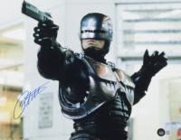 "Peter Weller Signed ""RoboCop"" 11x14 Photo (Beckett COA) at PristineAuction.com"