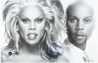 RuPaul Signed 11x17 Photo (Beckett COA & PSA COA) at PristineAuction.com