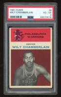 Wilt Chamberlain 1961-62 Fleer #8 RC (PSA 4) at PristineAuction.com