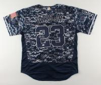 Fernando Tatis Jr. Signed Camo Padres Jersey (JSA COA) (See Description) at PristineAuction.com