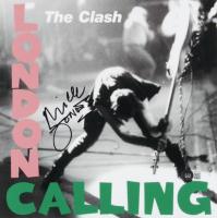 Mick Jones Signed The Clash 12x12 Photo (Beckett COA) at PristineAuction.com
