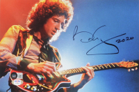 """Brian May Signed Queen 8x11 Photo Inscribed """"2020"""" (Beckett COA & PSA COA) at PristineAuction.com"""