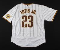 Fernando Tatis Jr. Signed Padres Jersey (JSA COA) (See Description) at PristineAuction.com