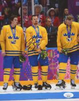 Daniel Sedin Signed Team Sweden 8x10 Photo (JSA COA) at PristineAuction.com