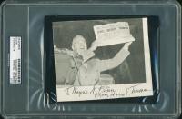 Harry S. Truman Signed 4.5x5.25 Cut (PSA Encapsulated) at PristineAuction.com