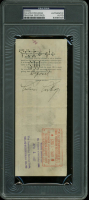 Calvin Coolidge Signed 1927 Personal Bank Check (PSA Encapsulated) at PristineAuction.com