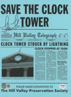 """Lea Thompson Signed """"Back to the Future"""" 8x10 Print (Beckett COA & PSA COA) at PristineAuction.com"""