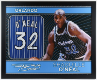 Shaquille O'Neal Signed 35x43 Custom Framed Jersey (Beckett Hologram) at PristineAuction.com
