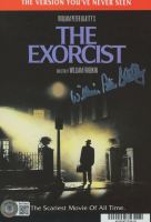 """William Peter Blatty Signed """"The Excorcist"""" 6x8 Backing Card (Beckett COA) (See Description) at PristineAuction.com"""