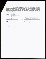Jerry Garcia Signed 1990 Grateful Dead Merchandising Agreement (PSA LOA) at PristineAuction.com