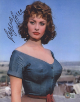 """Sophia Loren Signed """"The Pride and the Passion"""" 8x10 Photo (Beckett COA) at PristineAuction.com"""