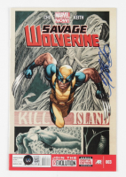 """Frank Cho Signed 2013 """"Savage Wolverine"""" Issue #3 Marvel Comic Book (Beckett COA) at PristineAuction.com"""