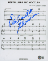 """Richard M. Sherman Signed """"The Many Adventures of Winnie the Pooh"""" Sheet Music 8x10 Photo (Beckett COA) at PristineAuction.com"""